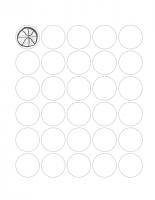 30 Circles Sheet
