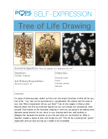 POPS Art Lesson 5 – Tree of Life Drawing