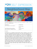 POPS Art Lesson 6 – Neighborhood Map