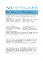POPS Mindfulness Lesson 2 – The Power of Breathing