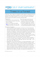 POPS Mindfulness Lesson 6- Trees in a Forest